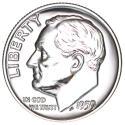 1959 P Roosevelt Dime GEM 90% Silver US Coin Proof - SKU 50351USDM