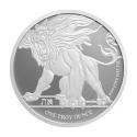 2019 1 oz Niue Silver Roaring Lion (BU)