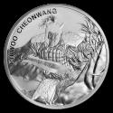 2018 1/2 South Korea Silver Chiwoo Cheonwang BU
