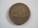 1857 1C Flying Eagle Cent Fine (F) Penny SKU 10012USC