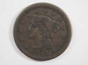 1851 Braided Hair Large Cent  Very Good (VG) Penny SKU 10028USC
