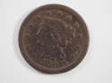 1850 Braided Hair Large Cent  Very Good (VG) Penny SKU 10031USC