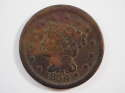 1850 Braided Hair Large Cent  Very Fine (VF) Penny SKU 10032USC