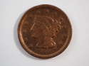 1849 Braided Hair Large Cent  Very Fine (VF) Penny SKU 10035USC