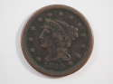 1849 Braided Hair Large Cent  Very Fine (VF) Penny SKU 10037USC