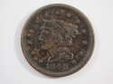 1848 Braided Hair Large Cent  Extra Fine (XF) Penny SKU 10041USC