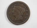 1846 Braided Hair Large Cent Small Date Good (GD) Penny SKU 10043USC
