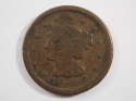 1846 Braided Hair Large Cent Small Date Fine (F) Penny SKU 10045USC