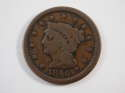 1846 Braided Hair Large Cent Small Date Very Good (VG) Penny SKU 10048USC