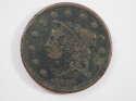 1838 Coronet Matron Fine (F) Penny SKU 10053USC