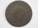1822 Coronet Head Matron Large Cent Good (GD) Penny SKU 10071USC