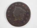 1826 Coronet Head Matron Large Cent Good (GD) Penny SKU 10074USC