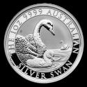 2019 1 oz Australia Silver Swan Coin (BU)