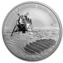 2019 1 oz Australia Silver Anniversary of the Moon Landing BU