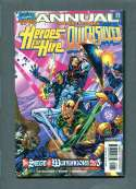 Heroes for Hire & Quicksilver  #5 of 5 1998 Annual  VF/NM Marvel 1998 SKU 255CS