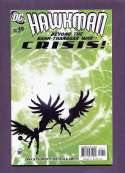 Hawkman  #49 Crisis! NM DC 2006 SKU 282CS