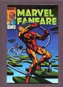 Marvel Fanfare #23 VG Marvel 1985 SKU 344CS