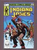 The Future Adventures of Indiana Jones  #1 VF/NM Marvel 1983 SKU 351CS