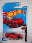 2019 Hot Wheels Corvette C7 Z06 Convertible Red HW Roadsters #95 New