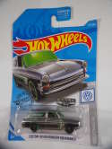 2019 Hot Wheels Custom 69 Volkswagen Squareback Silver #137 New