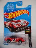 2019 Hot Wheels 69 Corvette Racer Red HW Race Day #173 New