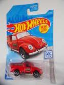 2019 Hot Wheels 49 Volkswagen Beetle Pickup Red #47 New