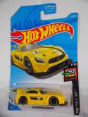 2019 Hot Wheels Mercedes-AMG GT3 Yellow HW Race Day #74 New