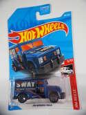 2019 Hot Wheels HW Armored Truck Blue HW Rescue #182 Treasure Hunt New