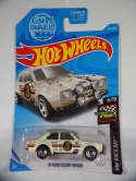 2019 Hot Wheels 70 Ford Escort RS1600 White HW Race Day #102 New