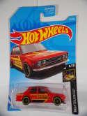 2019 Hot Wheels 71 Datsun 510 Red Nightburnerz #97 New