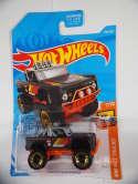 2019 Hot Wheels Custom Ford Bronco Black Orange Hot Trucks #186 Treasure Hunt New