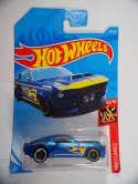 2019 Hot Wheels 67 Shelby GT-500 Blue HW Flames #33 New