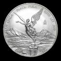 2015 1/4 oz Mexico Silver Libertad Coin (BU)