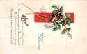Postcard North Adams  MA Merry Christmas SKU 1710PC