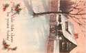 Postcard Denver CO May Yule-tide Cheer SKU 1765PC