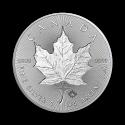 2019 1 oz Canada Silver Incuse Maple Leaf