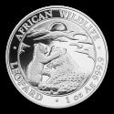 2019 1 oz Somalia Silver African Wildlife Leopard BU