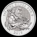 2019 1 oz Great Britain Silver Valiant BU