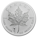 2018 Canada 1 oz Silver Maple Leaf Edison Light Bulb Privy