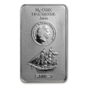 2017 10 gram Cook Islands Silver Bounty Coin Bar
