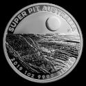 2019 1 oz Australia Silver Super Pit BU