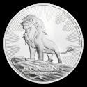 2019 1 oz Niue Silver $2 Disney Lion King 25th Anniversary BU
