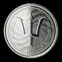 2019 Barbados 1 oz Silver Trident Coin (BU)