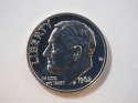 1962 P Roosevelt Dime Silver Proof - SKU 34-0526-USDM-PR