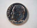 1964 P Roosevelt Dime Silver Proof - SKU 34-0556-USDM-PR