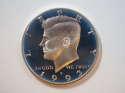 1993 S Kennedy Half Dollar Silver Proof - SKU 36-0252-USHD-PR