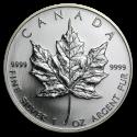 2006 1 oz Canada Silver Maple Leaf BU