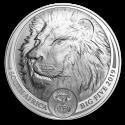 2019 1 oz South Africa Silver Big Five Lion Coin (BU)