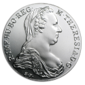 1780 Austria Silver Maria Theresa Thalers Restrike BU