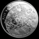 2011 5 oz Fiji Silver $10 Taku BU